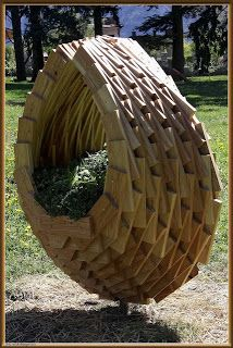 Jardinera de palets con un diseño espectacular | Muebles De Palets
