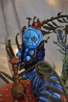 1 2 Down Special Order Alice in Wonderland Blue Caterpillar by Sutherland | eBay