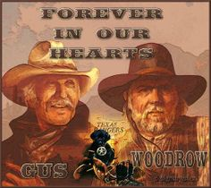 Forever in Our Hearts-Gus & Woodrow Lonesome Dove Quotes, Robert Duvall, Cowboys And Indians, Hard Truth, Western Movies, Paint Shop, Classic Tv, Old West, Best Memories