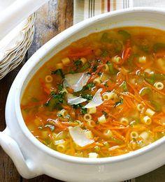 vegetable pasta soup   # Pin++ for Pinterest #
