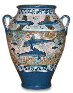 Minoan Dolphin Oinochoe Greek Vase - Google 検索