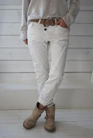 Please Jeans Optical White 3B