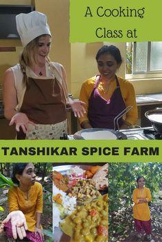 A Cooking Class at Tanshikar Spice Farm in Goa, India