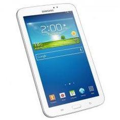 "Tablet Samsung Galaxy Tab 3 Tableta - Android 4.1 (Jelly Bean) - 8 GB - 7"" TFT ( 1024 x 600 ) - cámara posterior + cámara frontal - Host USB - Ranura para microSD - Wi-Fi, Bluetooth."