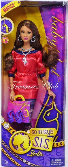 Barbie So in Style Baby Phat Marisa Doll for sale online New Barbie Dolls, Mattel Dolls, Barbie Clothes, Fashion Royalty Dolls, Fashion Dolls, Barbies Pics, Made To Move Barbie, Dolls For Sale, Baby Phat