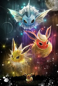 Pokemon Eevee Evolution Fanart by ruby–art.deviant… on Pokemon Eevee Evolution Fanart by ruby ​​- art. Pokemon Fan Art, Pokemon Legal, Gif Pokemon, Pokemon Eevee Evolutions, Pokemon Eeveelutions, Pokemon Tattoo, Pokemon Memes, Pokemon Fusion, Drawings Of Pokemon