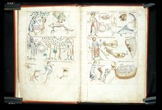 BL MS Sloane 3983, fol 12v-13,Treatise on astrology, Netherlands, 2nd or 3rd quarter of the 14th century. http://www.bl.uk/catalogues/illuminatedmanuscripts/record.asp?MSID=7959&CollID=9&NStart=3983