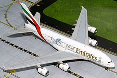 "GeminiJets Emirates Airline ""England Rugby World Cup"" Airbus Diecast Model Qantas A380, Airbus A380, Emirates Airbus, Emirates Airline, Diecast Airplanes, Model Airplanes, England Rugby World Cup, Thai Airways, Passenger Aircraft"