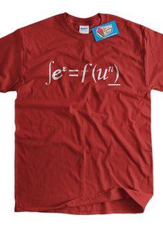 Sex equals Fun Math Geek Screen Printed TShirt Tee by IceCreamTees, $14.99