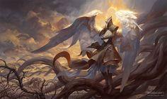 Raziel, Angel of Mysteries by PeteMohrbacher. DeviantART