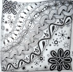 Tabitha Barnett challenge entry. Part of Diane & Carolien's Zentangle G-H-I  Challenge  http://www.dianeclancy.com/blog/2015/04/weekly-challenge-3-tangle-with-g-h-i/