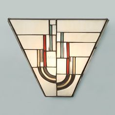 Chicago Range Art Deco Wall Light