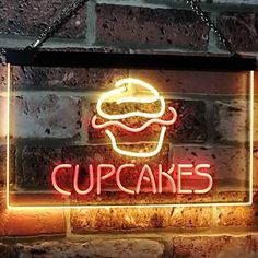 Bakery Cupcakes LED Neon Light Sign