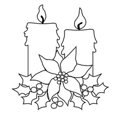 images of candles coloring pages - Google Search | Coloring ...