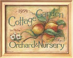 Cottage Garden - Susan Winget