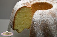BUNDT CAKE DE QUESO Y LIMON - Con un toque de azúcar