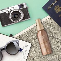 Keep your makeup looking fresh and skin rejuvenated with Balance Hydration Spray.  Beauty Tip: Our Hydration Sprays are TSA carry-on approved and one of our favorite on-flight companions to help keep skin moisturized and calm!