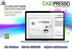 20 Best Pvc Id Card Printers Software Images In 2020 Card Printer Employees Card Proximity Card