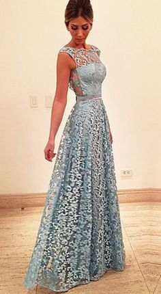 Custom Made Sheer Lace Long Party Dress, Prom Dresses , Evening Gown Blue Lace Prom Dress, Orange Prom Dresses, Lace Party Dresses, Designer Prom Dresses, Prom Dresses 2017, Backless Prom Dresses, Dance Dresses, Dress Prom, Dress Long