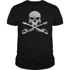 Cavalry - Skull Sabers White Distressed
