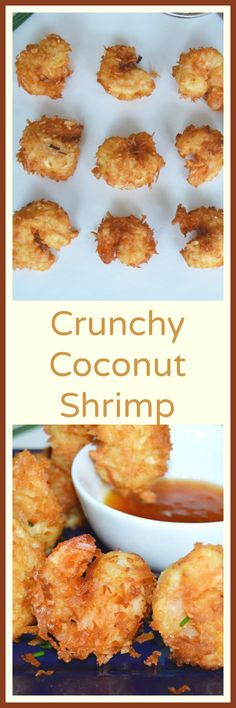 Simple to make --Juicy, Crunchy and light? Must make these Coconut Shrimp for our next get together....or wait...maybe for dinner with a salad! So good.