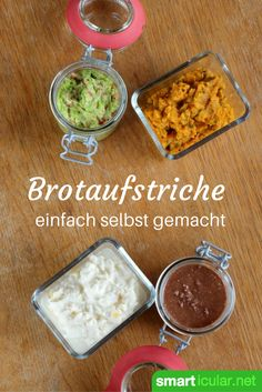1000 originelle Brotaufstriche aus nur zwei Zutaten Make spreads yourself is too expensive? Learn how to make vegan and vegetarian spreads from just two ingredients in an instant! I Love Food, Good Food, Yummy Food, Polenta Frita, Samosas, Diy Food, Finger Foods, Guacamole, Food Inspiration