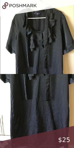 Gap Large Tall Black Dress Tie black dress GAP Dresses