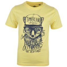 4da8d94c054 Kids Cavern - Timberland Boys Yellow Fox T-Shirt