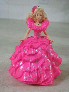 Happy Holiday Holidays Barbie Doll Christmas Ornament
