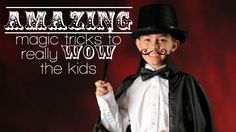 Amazing magic tricks for kids.  http://www.magictricksreviewed.com/learn-simple-magic-tricks-for-kids/  #magic tricks for kids #kids' magic tricks #magic tricks #tricks for kids #children's magic tricks #magic tricks for children