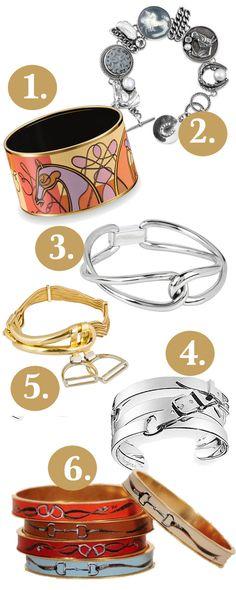 Equestrian Bracelets
