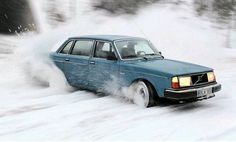 """""""Oh the weather outside is frightful... let it snow, let it snow, let it snow."""" Having fun with the 240"""