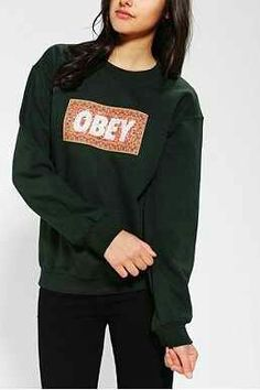 Im so obsessed with all these OBEY sweaters right now!