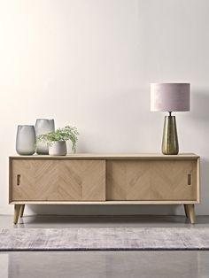 Modern Home Furniture, Scandinavian Furniture, Living Furniture, Furniture Design, Light Oak Furniture, Furniture Nyc, Cheap Furniture, Sideboard Furniture, Modern Sideboard