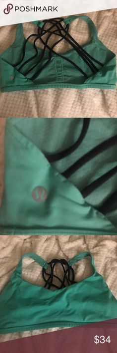 Lululemon Free to be Wild Sports Bra Excellent used condition.  No notable flaws. Bra pads not included. lululemon athletica Intimates & Sleepwear Bras
