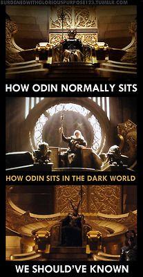King Loki in the house!!! Whoop! Whoop!!!