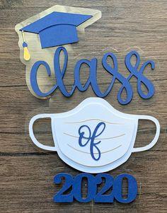 Kindergarten Graduation, High School Graduation, Graduation Cards, Graduation Cake Toppers, Graduation Decorations, Prom Decor, Congratulations Graduate, Class Of 2020, Grad Parties