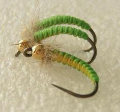 Cool looking woven flies, but they work GREAT