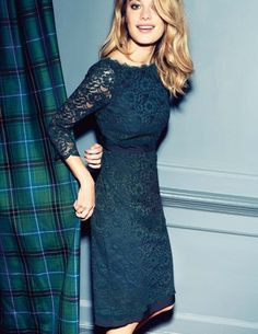 How do I say this without yelling it.... I NEED THIS DRESS Luxurious Lace Dress | Boden USA