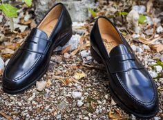 Buy latest Boston Black Cavalry Calf shoes only at Ashton Marks  #crockettandJones #MensFashion