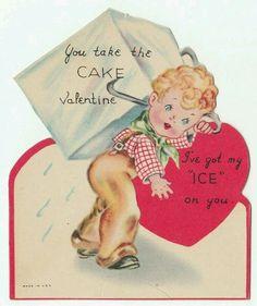 Vintage Valentines Valentine Cards