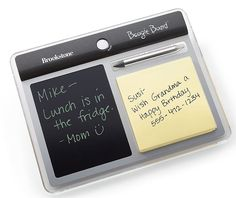 Boogie Board Memo Paperless Notepad at Brookstone—Buy Now! Unique Gifts For Him, Gifts For Mom, Cool Tech Gifts, Waste Paper, Weird Shapes, School Notes, Gadgets And Gizmos, Best Mom, Boards