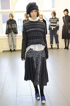 Knitwear - James Long Women Autumn / Winter 2013