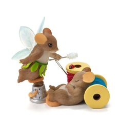 Charming Tales Mouse Fairy Figurine 3.5