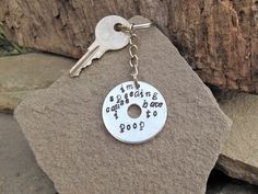 Check out this item in my Etsy shop https://www.etsy.com/listing/196140632/stocking-stuffer-hand-stamped-keychain