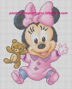 Fabinha Gráficos Para Bordados: Disney