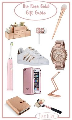 A Rose Gold Gift Guide For Anyone Looking Fan