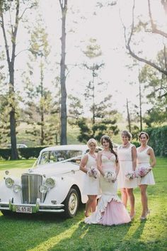 Brisbane High Tea Wedding. Ideal for a cheaper reception option, afternoon high tea in a garden setting for guests. Immediate family could then go on to dinner in the evening at a nice restaurant for an intimate dining experience.