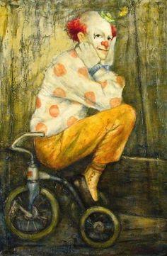 Payaso en triciclo - BUTTERFIELD Cortland