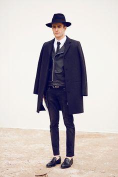 Пальто на куртку-косуху